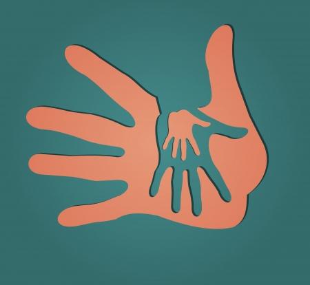 caring hands: Zorgzame handen