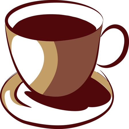 lively: coffee cup Illustration