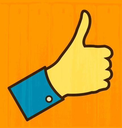 Thumb Up Stock Vector - 15350379