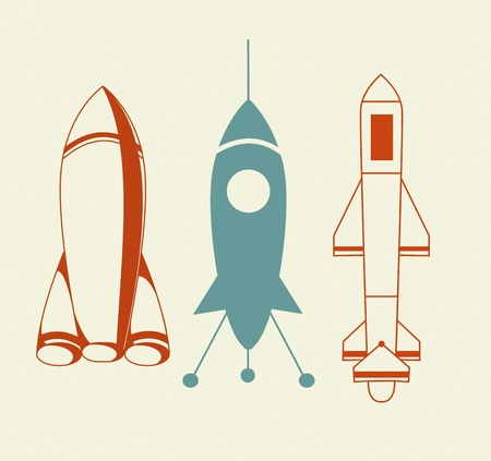 Rocket Icon Stock Vector - 15442128