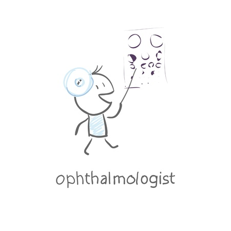 ophthalmologist Stock Vector - 15447220