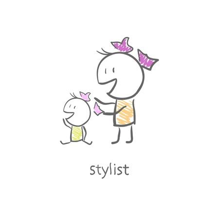 Stylist  Stock Vector - 15447222