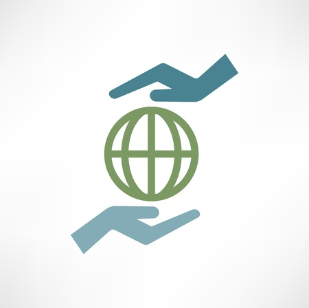 mani terra: Mani con terra