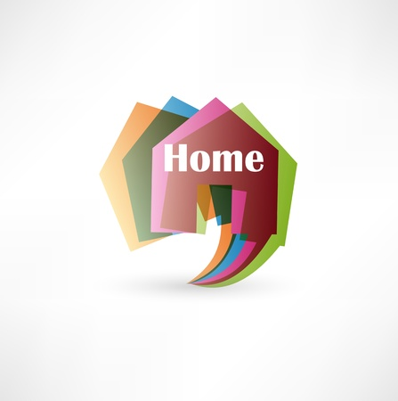 property for sale: Real estate concept design element speech bubble