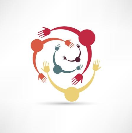 community people: Persone collegate Simbolo