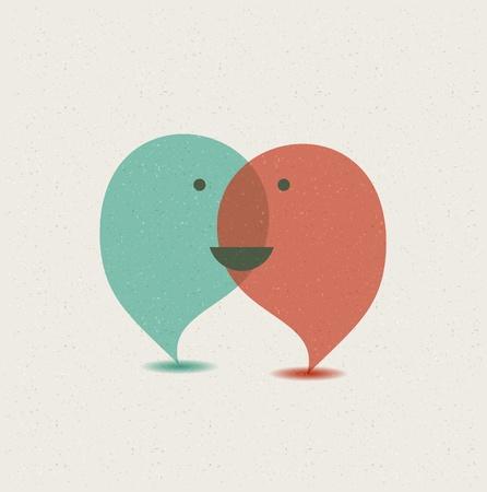 Dialog Sprechblasen.