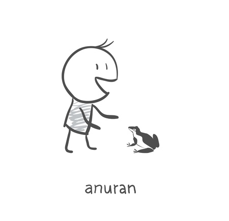 Anuran Friend  Vector