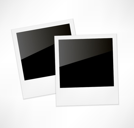 Polaroid photo frame Stock Vector - 15795911