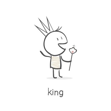 reign: KIng Illustration