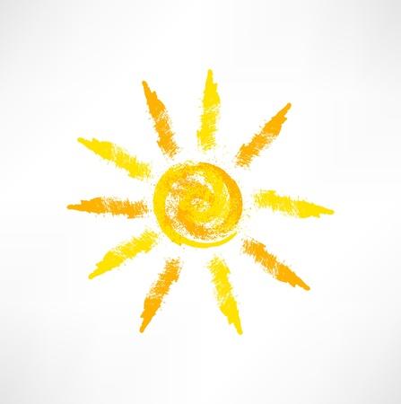 Sun symbol 向量圖像