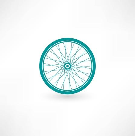 Bicycle Wheel Symbol 일러스트