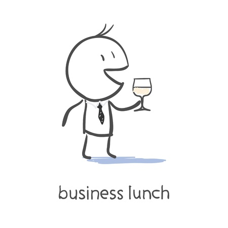 lunch break: Business Lunch