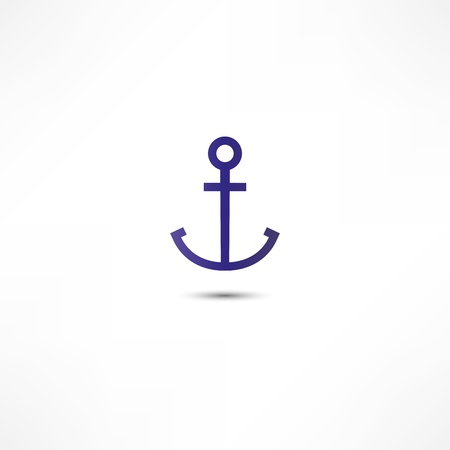 Anchor Icon Stock Vector - 16282346