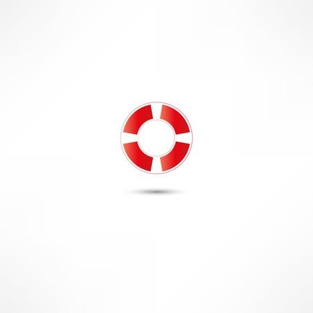 sos: Lifebuoy Icon  Illustration