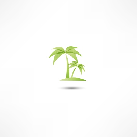 palms icon Stock Vector - 16282359