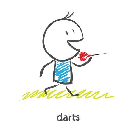 Darts Stock Vector - 16282410