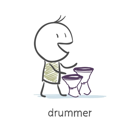 Drummer Stock Vector - 16282368