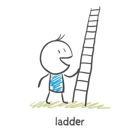 job opportunity: Ladder  Illustration