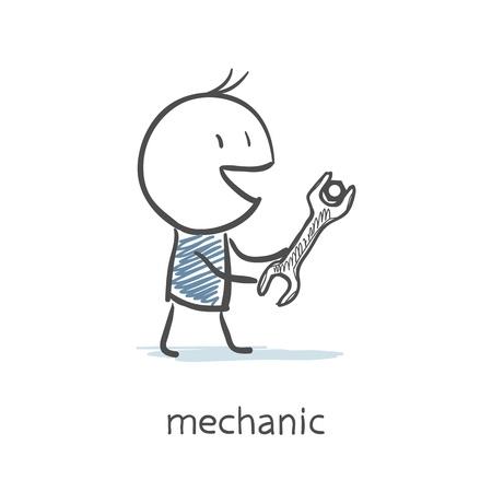 Mechanic Stock Vector - 16282354