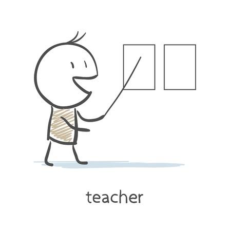 speaker: Teacher  Illustration