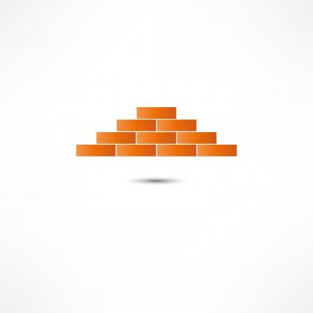 row houses: Brickwork Icon
