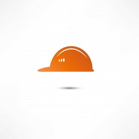 Helmet Builder Icon Stock Vector - 16366104