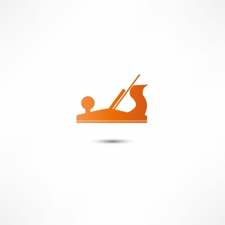 Jointer plane icon Ilustrace