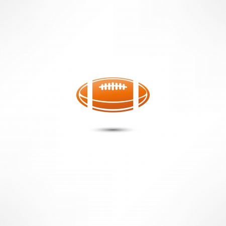 American Football icon Stock Vector - 16366201