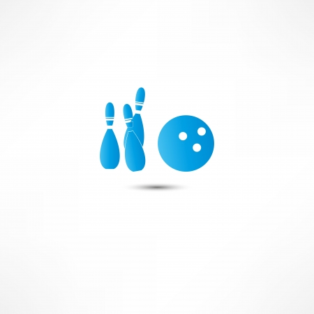 Bowling Icon Stock Vector - 16366277