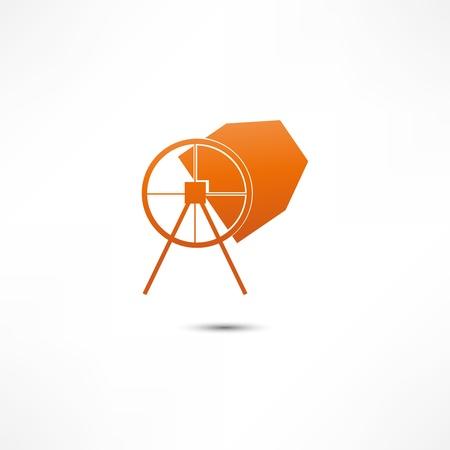 Concrete Mixer Ikona Ilustracje wektorowe