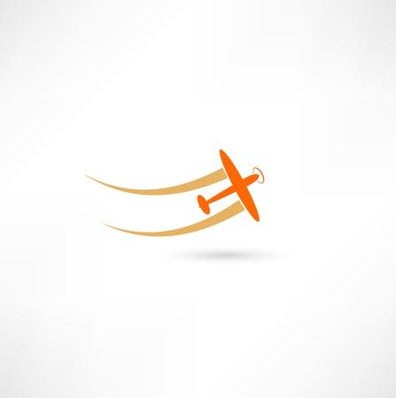 airplane symbols Vectores