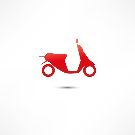 restored: scooter icon Illustration