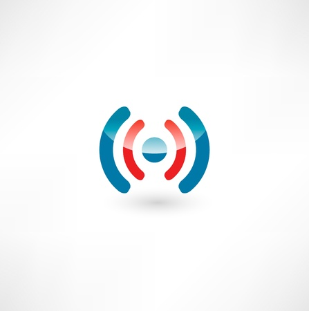 wi fi icon:  Wireless Icon Illustration