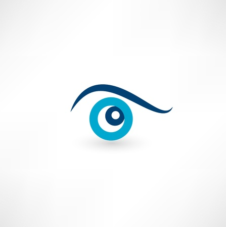 eye icon Stock Vector - 16493283