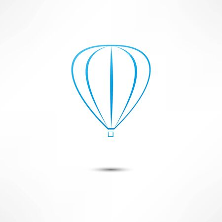 hot air balloon icon Stock Vector - 16549868
