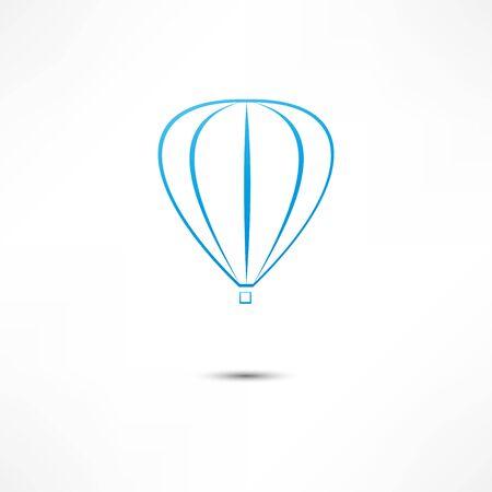 buoyant: hot air balloon icon