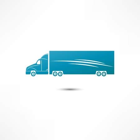 Truck Icon Stock Vector - 16549875