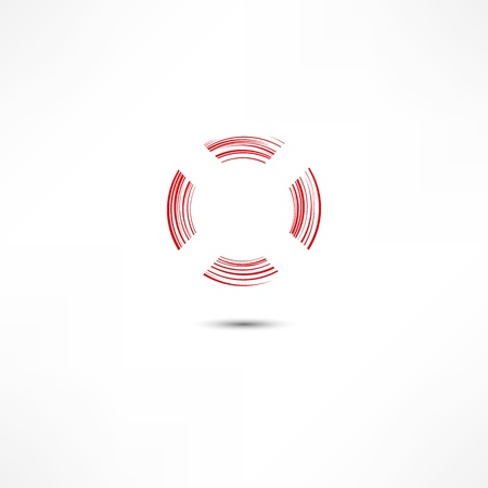 lifebelt: Lifebuoy Icon Illustration