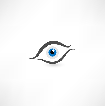eye icon Stock Vector - 16795565
