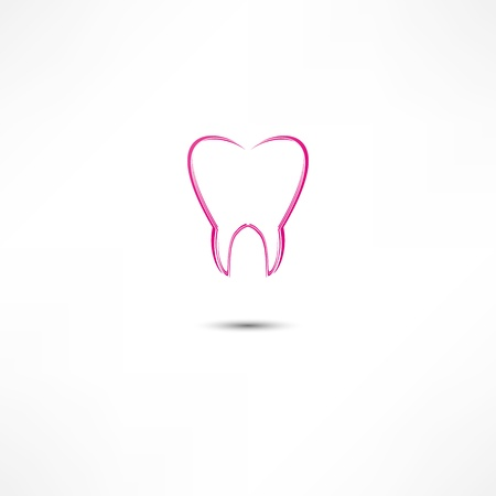 Tooth Icon Illustration