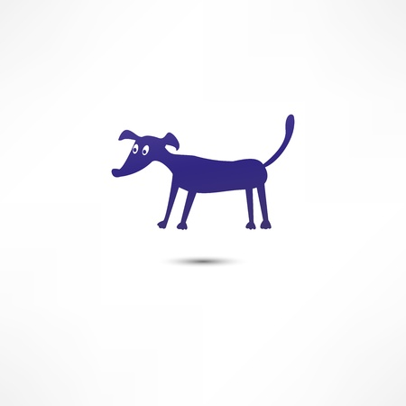 noses: Dog Icon Illustration