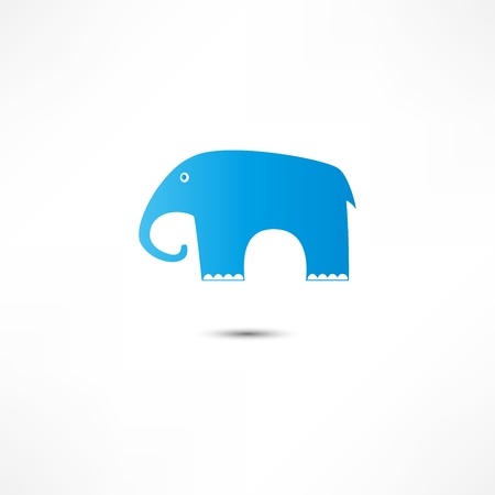 Elephant Icon Vector