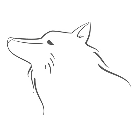 Dog Icon Illustration