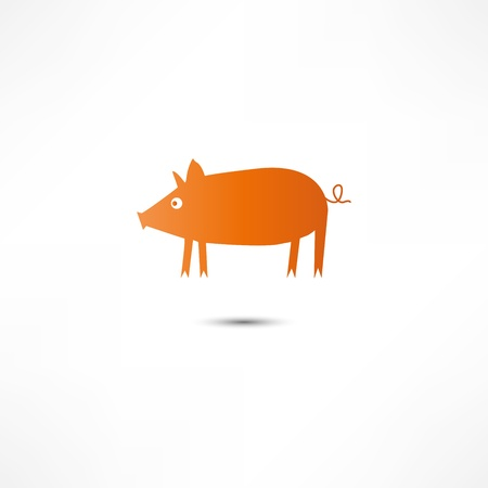 Pig Icon Stock Vector - 16795668
