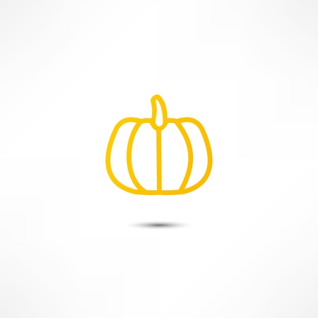 Pumpkin Icon Stock Vector - 16795679
