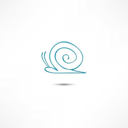 Snail Icon Vector