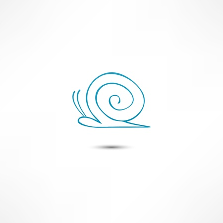 the cochlea: Snail Icon
