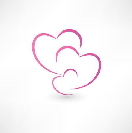 corazon en la mano: Familia Icono
