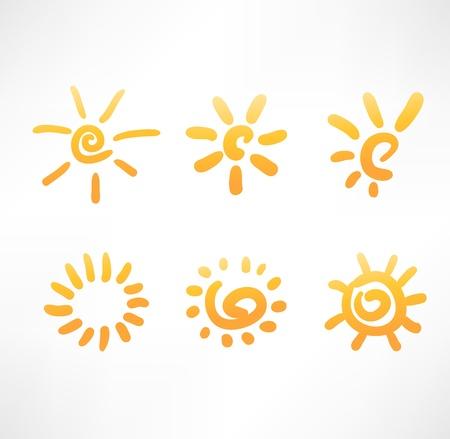 sun energy: Sun set