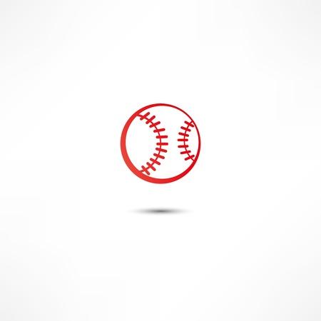 野球のボールのアイコン 写真素材 - 16838941
